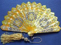 eventail Fan Faecher Ventaglio C. 1870