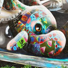 WiP art by Louis Masai (Detail)   Meeting of Styles festival   #StreetArt #Graffiti #UrbanArt #MeetingOfStyles2016 #ArtFest #LouisMasai #Fanakapan #PedleyStreet #Shoreditch #London #Nikon #NikonD60 #NikonPhotography #SprayDaily #tv_streetart #rsa_graffiti #dsb_graff #GullySteez #TagLifeGraffiti #NotBanksyForum #MuralsDaily #StreetArtNews #GraffitiLondon #GraffitiUK #StreetArtLondon #StreetArtUK #LondonStreetArt #UkStreetArt #ShoreditchStreetArt #StreetArtEverywhere by apollobelladona from…