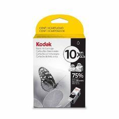 Kodak Genuine 10BXL Ink Cartridge - Black (770 Pages) - KODAK 10XL BLACK IN CARTRIDGE 3949922 Consumables Ink and Toner Cartridges uk  - http://ink-cartridges-ireland.com/kodak-genuine-10bxl-ink-cartridge-black-770-pages/ - (770, 10BXL, black, cartridge, Genuine, Ink, KODAK, pages