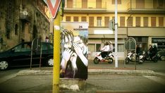 Alice Pasquini - Terracina, Italy - International Day for the Elimination of Violence against Women