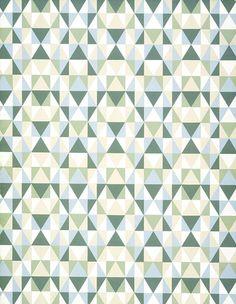 Frank Lloyd Wright, 'Design 706' wallpaper sample, 1956. Schumacher & Co.