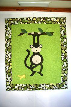 #7~ my Monkey quilt ~ made three of them!