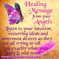 Gain your Angel Healing Guidance with these FREE Angel Healing Message cards and help yourself to heal with angelic assistance.