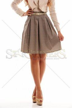 PrettyGirl Charming Green Skirt