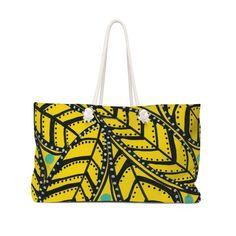 Yellow Palm Bag