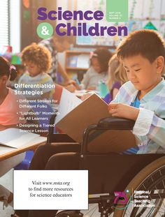 """Recent article published by EC STEM Lab authors in """"Science and Children"""", Sep 2019 Science Lessons, Teaching Science, Science Education, Differentiation Strategies, Math Stem, Early Childhood, Authors, Lab, Engineering"""