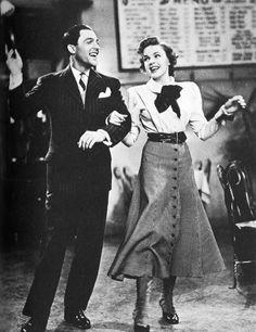Judy Garland and Gene Kelly - best singer with genius dancer/choreography!
