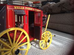 e5767d494b4 Final photo s of finished stage coach just the luggage and Winchester rifle  to make