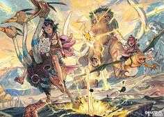 Character Illustration, Illustration Art, Pokemon Painting, Character Art, Character Design, Cartoon Drawings, Manga Art, Art Pictures, Game Art