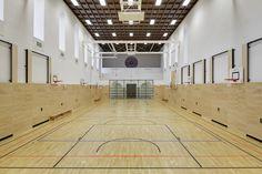 Umbau zur Sporthalle der ehemaligen Kirche St. Elisabeth