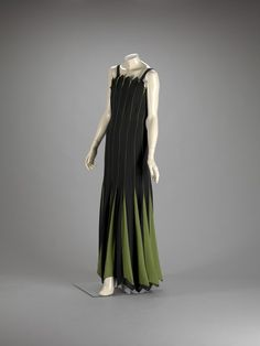 Evening Dress designer Jean Patou (French, 1880-1936) creation date about 1930 materials silk georgette accession number 2004.156