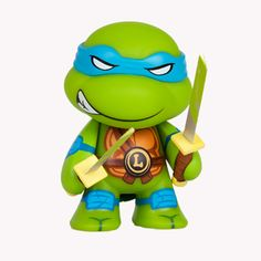 TMNT Ooze Action Glow In the Dark Leonardo