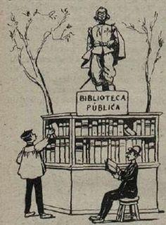 Las Bibliotecas circulantes de los Parques de Madrid (1919)