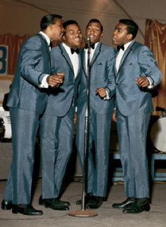 The Four Tops - I dare you to sit still while they sing. You simply have to move