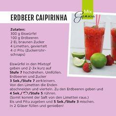Rezept für Erdbeer-Caipirinha