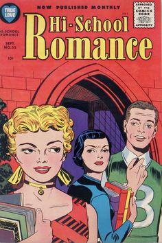 Hi-School Romance -1956 - Portda de Jack Kirby