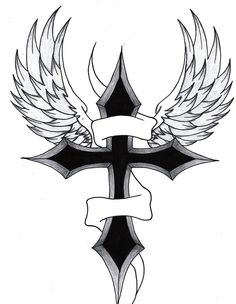 Image from http://www.tattoosecool.com/wp-content/uploads/2013/11/Drawings-Of-Crosses-With-Wings.jpg.