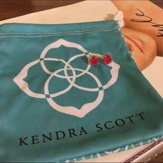 Kendra Scott Earrings Logan stud earrings - pink Kendra Scott Jewelry Earrings