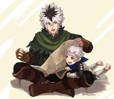 Shura and Kanna- that's my family! :D