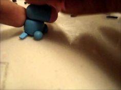Eeyore Polymer Clay Charm Tutorial