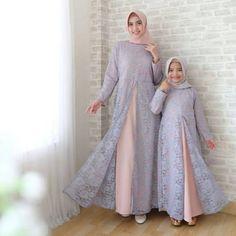 Dress Muslim Modern, Muslim Dress, Hijab Fashion Summer, Modern Hijab Fashion, Abaya Designs, Kurti Neck Designs, Dress Outfits, Fashion Dresses, Moslem Fashion