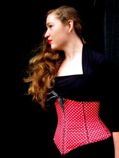 The 'Serendipity' underbust corset   The Sew Weekly - Sewing & Vintage Lifestyle