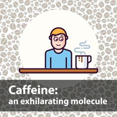Coffeeholics, be careful! Biology Facts, Science Facts, Science Experiments, Subscriptions For Kids, Chemistry Set, Caffeine, Slime, Life Hacks, Jokes