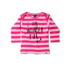 Minti LS Envelope Tee Wonderful Pink/Pink Rock You Baby, Baby Kids, Graphic Sweatshirt, Sweatshirts, Troll, Tees, Winter, Envelope, Sweaters