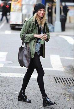Candice swanepoel street looks Street Style Outfits, Mode Outfits, Stylish Outfits, Fall Outfits, Summer Outfits, Mode Style, Style Me, Looks Teen, Only Shorts