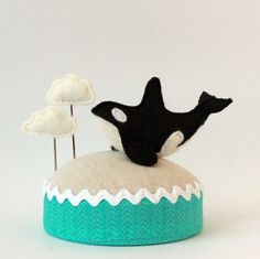 Flying Orca Pincushion
