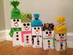Your place to buy and sell all things handmade Snowman Family wooden sign Snowman Christmas Decorations, Christmas Wood Crafts, Snowman Crafts, Christmas Gift Wrapping, Diy Christmas Gifts, Christmas Snowman, Simple Christmas, Christmas Projects, Holiday Crafts