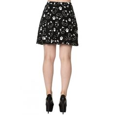 "BANNED ""Purrrrfect Kitty"" skirt - size L"