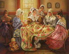 LDS Art - Women of Church History by Lynde Mott | Altus Fine Art