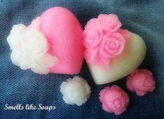 Σαπουνάκια καρδούλες - Heart Soaps