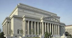 The National Archives Building ~ Washington D.C. ~ It houses the Constitution, Declaration of Independence, and Bill of Rights.