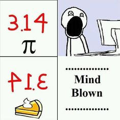 Best Pi Day Memes for Celebrating - - Pi Day Memes! Celebrate your inner math nerd with these funny pictures about pi. Get ready for the onslaught of PI MEMES on March because it's PIE DAY, correction PI DAY. Our kids. Math Humor, Nerd Humor, Memes Humor, Nerd Jokes, Math Puns, Punny Puns, Geek Humour, Humor Quotes, Pi Jokes