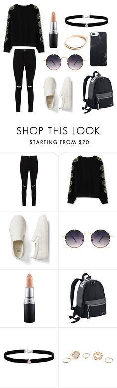 """""""Untitled #334"""" by fashion-with-dudette on Polyvore featuring Boohoo, Gap, Spitfire, MAC Cosmetics, NIKE, Amanda Rose Collection and GUESS"""