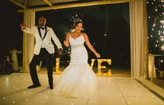 Melissa & Edwin's destination wedding in Punta Cana; Punta Cana beach wedding, beach wedding in Punta Cana, beach wedding reception @destweds