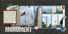washington monument scrapbook ideas | Washington Monument
