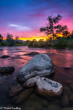 Truckee River by Michael Lindberg on 500px