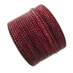 "24pcs Maroon Bangles Set Indian Bollywood Wedding Lehenga Churi Kangan Sz 2*9 IBA. $18.99. SIZE - 2.5""Inches Diameter; COLOR - Maroon. 24pcs Maroon Bangles Set Indian Bollywood Wedding Lehenga Churi Kangan Sz 2*9. SALE FOR - Set of 24 Pcs; MATERIAL - Aluminium"