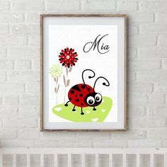 Personalized Name Si Floral Nursery, Nursery Prints, Nursery Art, Girl Nursery, Personalised Prints, Personalized Wall Art, Art Wall Kids, Canvas Wall Art, Kangaroo Kids