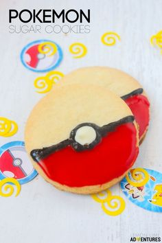 Super Simple Pokemon Sugar Cookies Perfect for Any Pokemon Birthday Party or…