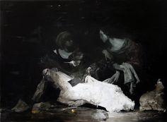 Nicola Samori, 2013, oil on linen, 150 x 200 cm