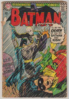Batman V1 180. GD. May 1966. DC Comics by RubbersuitStudios #batman #comicbooks