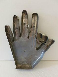 Vintage Heart Hand Soldered Tin Cookie Cutter | eBay  sold   215.00.       ...~♥~