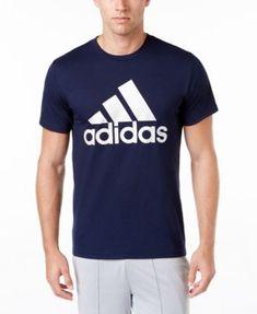 4da6ee9c348b7 adidas Men s Badge of Sport Classic Logo T-Shirt - White Black 2XL Gym