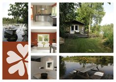 Vakantiehuisje aan Het Water (holiday house by the water): outstanding interior design | Tienhoven Loosdrechtse plassen (UT)