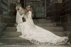 Victoria Velvet and Lace Fantasy Medieval Fairy by RomanticThreads