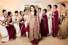 50 Modern Indian Wedding Dress And Wedding Gown Ideas - VIs-Wed Modern indian wedding dresses and wedding gowns ideas 14 Indian Bridal Party, Indian Wedding Gowns, Pakistani Wedding Dresses, Desi Wedding, White Wedding Dresses, Indian Weddings, Wedding Sari, Bollywood Wedding, Wedding Ideas